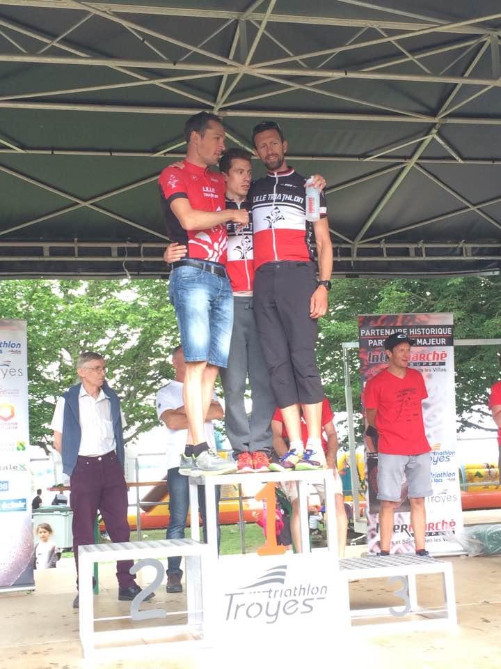 Half du Triathlon des Lacs (Troyes): Lille-Tri en force !