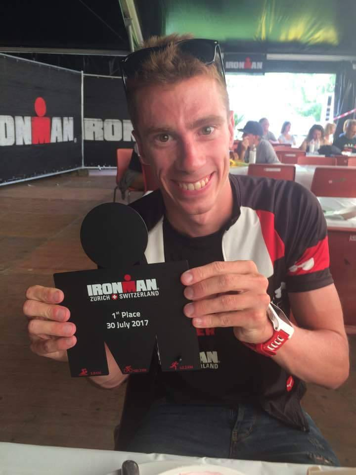 Ironman Zurich: Damien Bethencourt … 3eme qualifié du club pour Hawai 2017 !