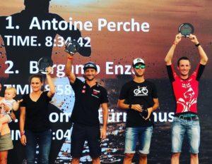 Performance majuscule pour Antoine sur l'Ironman Italie !