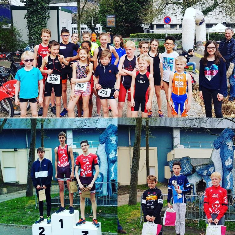 Resultat club Aquathlon de Lille 2018