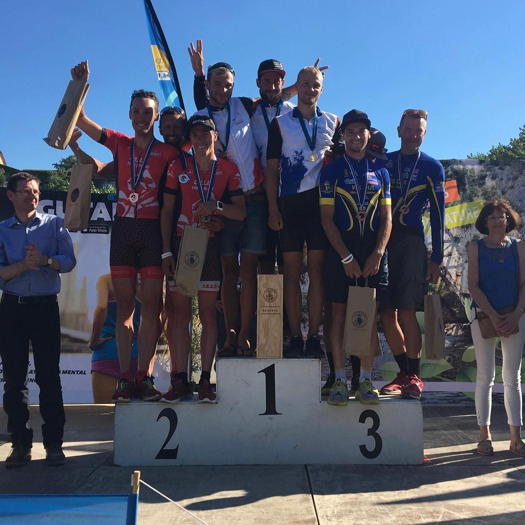 Championnat de France LD (Ardèche): Podium pour l'équipe !